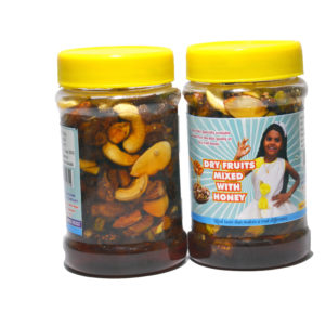 Dry Fruits Mixed With Honey – 250g