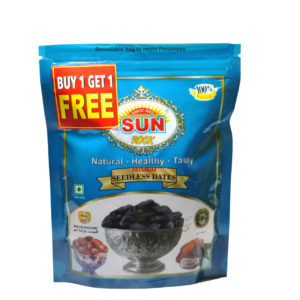 SR PREMIUM SEEDLESS DATES - 250g MRP - 98